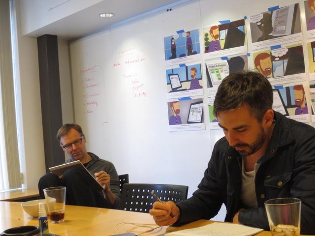 Derwyn Harris and Jason Goetz review persona workflows