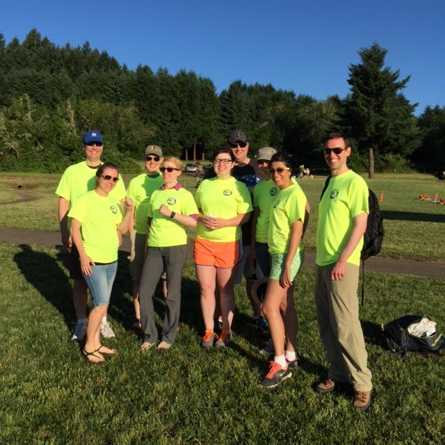 Support Team at Hagg Lake