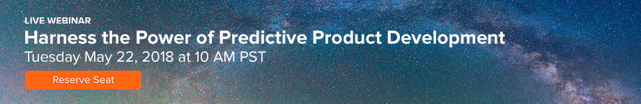Webinar: Harness the Power of Predictive Product Development