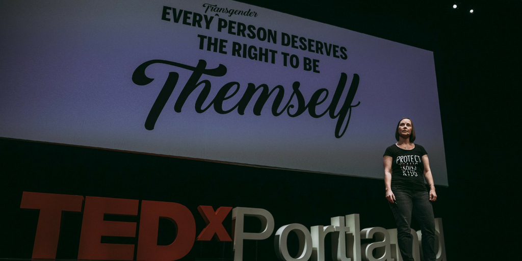 Colleen Yeager at TEDxPortland 2018