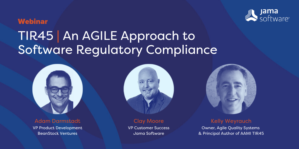 TIR45 AGILE software regulatory compliance