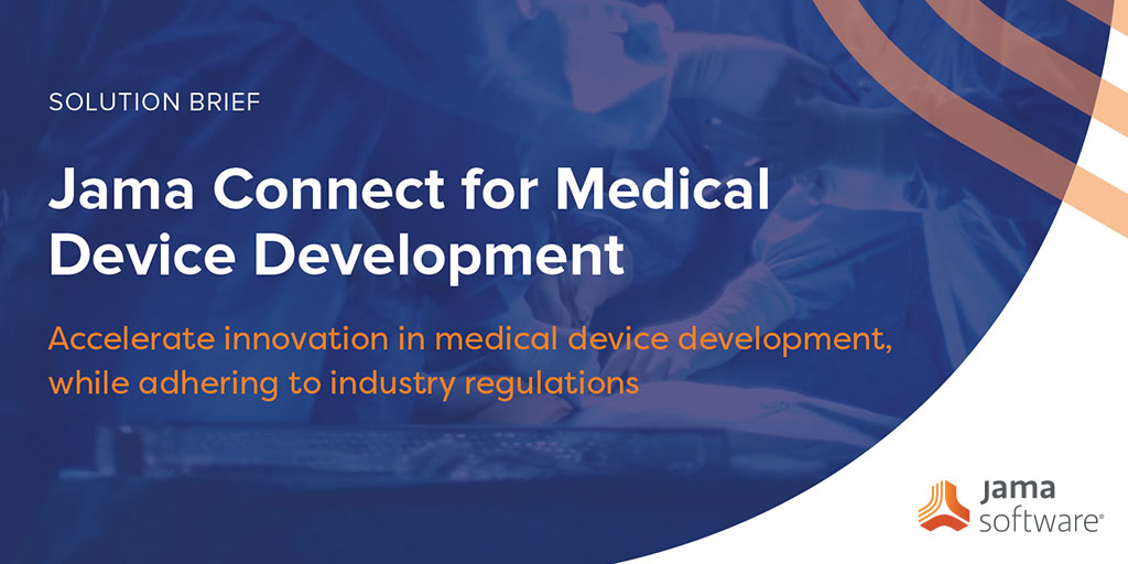 Jama Connect for Medical Device Development